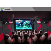 China Indoor Entertainment 9D XD 5D Movie Theater With Emergency Stop Buttons factory