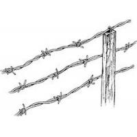 Buy cheap Hot Dipped Galvanized Sharp Barbed Wire Fence Roll 450mm - 960mm Diameter from Wholesalers