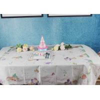 China Printed Biodegradable Paper Tablecloth For Children Birthday Decoration factory