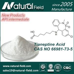 China API intermediate 66981-75-3 Tianeptine Acid factory