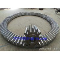 Buy cheap Custom Bevel Gears With Straight Teeth / Cast Iron or Aluminum Tapered Gears from Wholesalers