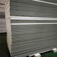 China 50mm color steel exterior EPS sandwich wall panel 11900x1150mm for wall and ceiling factory