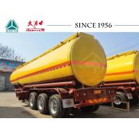 Buy cheap 40000 Liters Carbon Steel Fuel Tanker Trailer For Diesel Transport from wholesalers