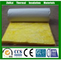China Cold Room Insulated Glass Wool Building Rolls with Alumium Foil on sale