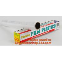 Buy cheap surface protection PE best fresh cling film, China stretch cling wrap manufacturer pe food wrap with sample from Wholesalers