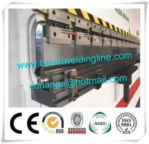 China WE67K -200T /4000 CNC Hydraulic Press Brake , Sheet Press Brake Bending Machine factory