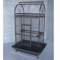 China Pet Cage with Pb-free/UV-resistant Powder Coating and Swivel Wheel, Measures 610 x 570 x 1,537mm factory