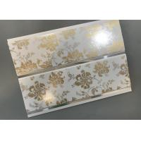 China Hot Stamping Decorative PVC Panels With Persistent Material Long Using Life factory