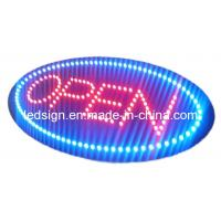 China LED Oval Open Sign on sale