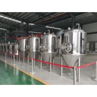 Buy cheap 1000L Beer Conical Fermentation Tank Stainless Steel 304 Fermenting Equipment from wholesalers