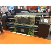 Buy cheap Double Vision Fabric Plotter , Automatic  Inkjet Fabric Printing Machine from Wholesalers