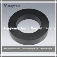 China 100X60X20,Ceramic Magnets C8,  Hard Ferrite ring Magnets y30BH factory