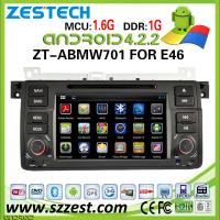 China ZESTECH Android 4.2.2 Car DVD Player for BMW E46 dvd player with Wifi 3G GPS Radio TV IPOD Steering wheel Control on sale