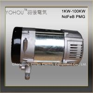 China High Efficiency 5KW 3 Phase NdFeB Permanent Magnet Generator Alternator factory