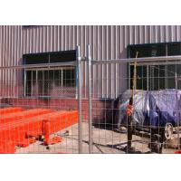 Buy cheap Neat Surface Construction Fence Panels Construction Barricade Fencing from Wholesalers