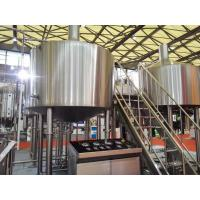 China Touch Screen Large Home Brewing Equipment 2000L Sus304 Brewhouse Equipment factory