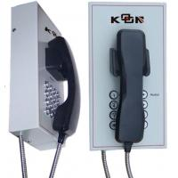 Buy cheap Metal Auto Dial Emergency Phone System , Shockproof Waterproof Telephone from Wholesalers