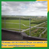 Buy cheap Derby ball joints tubular handrail hot dipped galvanized steel ball balustrade from wholesalers