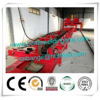 China H Beam Fit Up Assembling Machine , Automatic H Beam Production Line Welding Machine factory