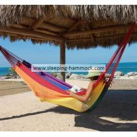 Buy cheap Multi Colored Rainbow Hanging Mayan Style Hammock Without Spreader Bar 320 Cm from Wholesalers