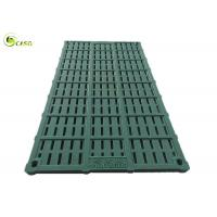 Buy cheap Resin Pig Farrowing Crate Slat Floor BMC Sow Gestation Stall Leakage Dung Plate from wholesalers