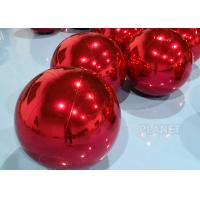 China Waterproof 0.6m Inflatable Mirror Sphere Ball For Stage Decoration factory