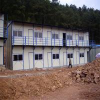 China fast assembly prefab guest house can resist 8 grade earthquake factory