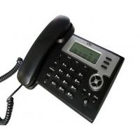Buy cheap Black SIP IP Office Telephones , Plastic VOIP SIP Phone With Keypad Hook from Wholesalers