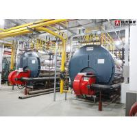 Quality Methane Diesel Oil Fuel Fired Fire Tube Steam Boiler , High Efficiency Condensing Boiler for sale