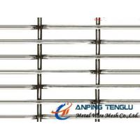 China Slot Hole Crimped Wire Mesh in SS304, SS316 for Architecture & Animal Raising factory