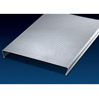 China Fashionable  Aluminum Ceiling Tiles 150mm C-Shape  Excellent Extensibility On Visual Space factory