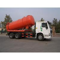 Buy cheap Sinotruk HOWO Vacuum Suction Truck With Jetting Cleaning KEG Pipe Nozzle 12m3 Tanker from Wholesalers