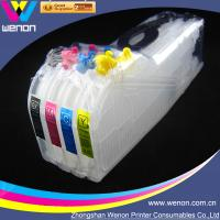 China refillable ink cartridge for Brother LC12 LC17 LC73 4 color printer ciss ink system factory