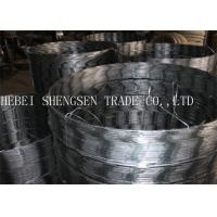 Buy cheap Ss005 Galvanized Razor Barbed Wire , Concertina Razor Wire 0.5mm Thickness from Wholesalers