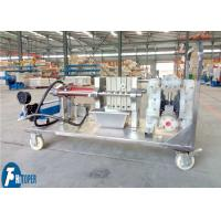Buy cheap Laboratory Use Mobile Filter Press , Small Manual Filter Press Machine from Wholesalers