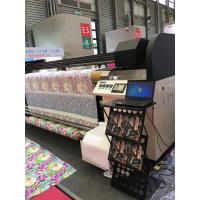 Buy cheap Inkjet Textile Printing Machine , Two / Four Kyocera Heads Banner Plotter Printer from Wholesalers