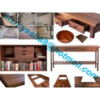 Buy cheap 40mm high quality black walnutu wooden worktop accessories from Wholesalers