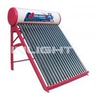 240L Solar Collector Water Heater , Direct Solar Water Heating Systems For Domestic Hot Water