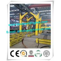 China Trailer Chassis Box Beam Production Line Chain Turning Machine 360 Degree Rotation Angle factory