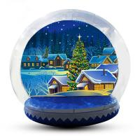China 5m Customized Inflatable Snow Globe For Party / Event / Promotion factory