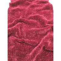 Buy cheap soft hand feel with stiff tension chunky to fine gauge Chenille yarn for knitting sweater gloves hats from Wholesalers