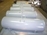 High pressure air compressor vertical tank 0.6m³ for nitrogen , oxygen storage