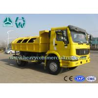 Buy cheap High Performance Compactor Garbage Truck With Air Conditioner EURO II from Wholesalers