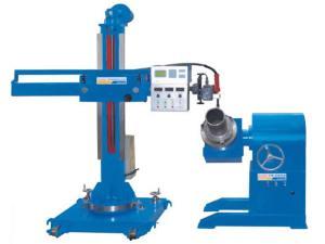 China Column Boom 3000mm/Min Elevating Traversing Welding Manipulator factory