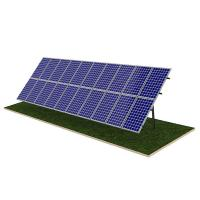 China Steel Pile Solar Panel Ground Mounting Systems Rapid Installation 20M Max Building Height factory