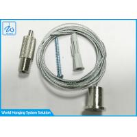 China Light Fitting Wire Suspension Hanging Kit With Steel Wire Rope Ceiling Attachment factory