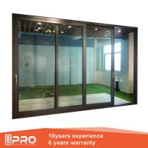 China Aluminum Sliding Glass Patio Doors , Modern Design Custom Sliding Glass Doors factory