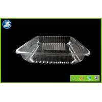 Buy cheap Food Grade Clear Plastic Food Packaging Trays , meat packing trays from Wholesalers