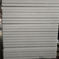 China 75mm white color waterproof eps sandwich wall panel 11900 x 1150 x 50mm for building factory