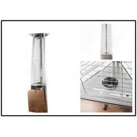 Buy cheap 650mm Gas Garden Patio Heaters , Outdoor Propane Tower Heater 3 Heat Settings from Wholesalers